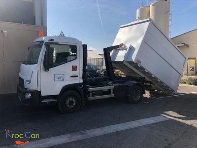 Location de camion benne pour le compost