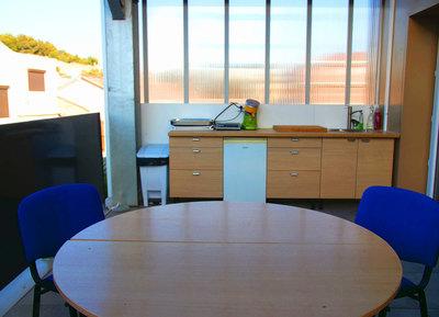 Terrasse de Kroc'Can, accessible lors de vos réunions